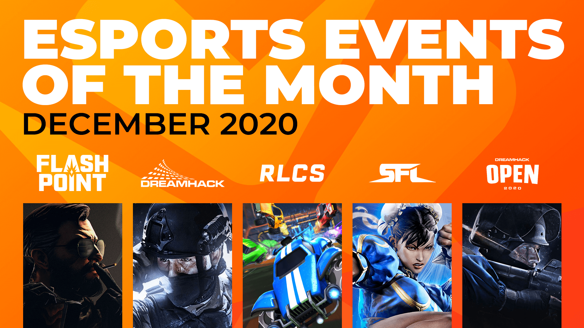 Esports Events to Watch This Month (December)