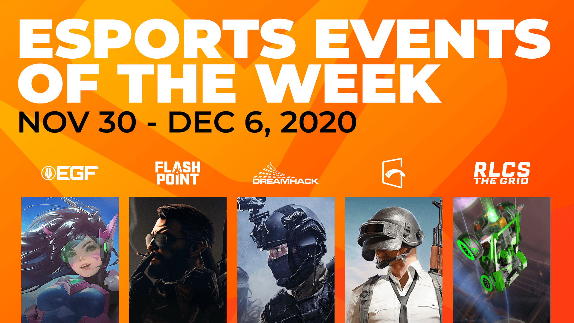 Esports Events to Watch This Week (November 30 – December 6)