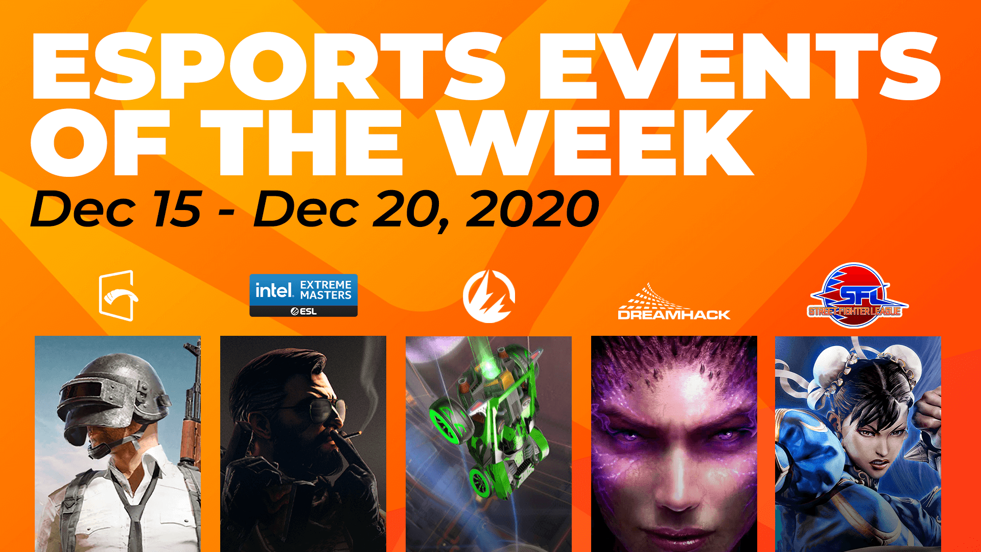Esports Events to Watch This Week (December 14 – 20)