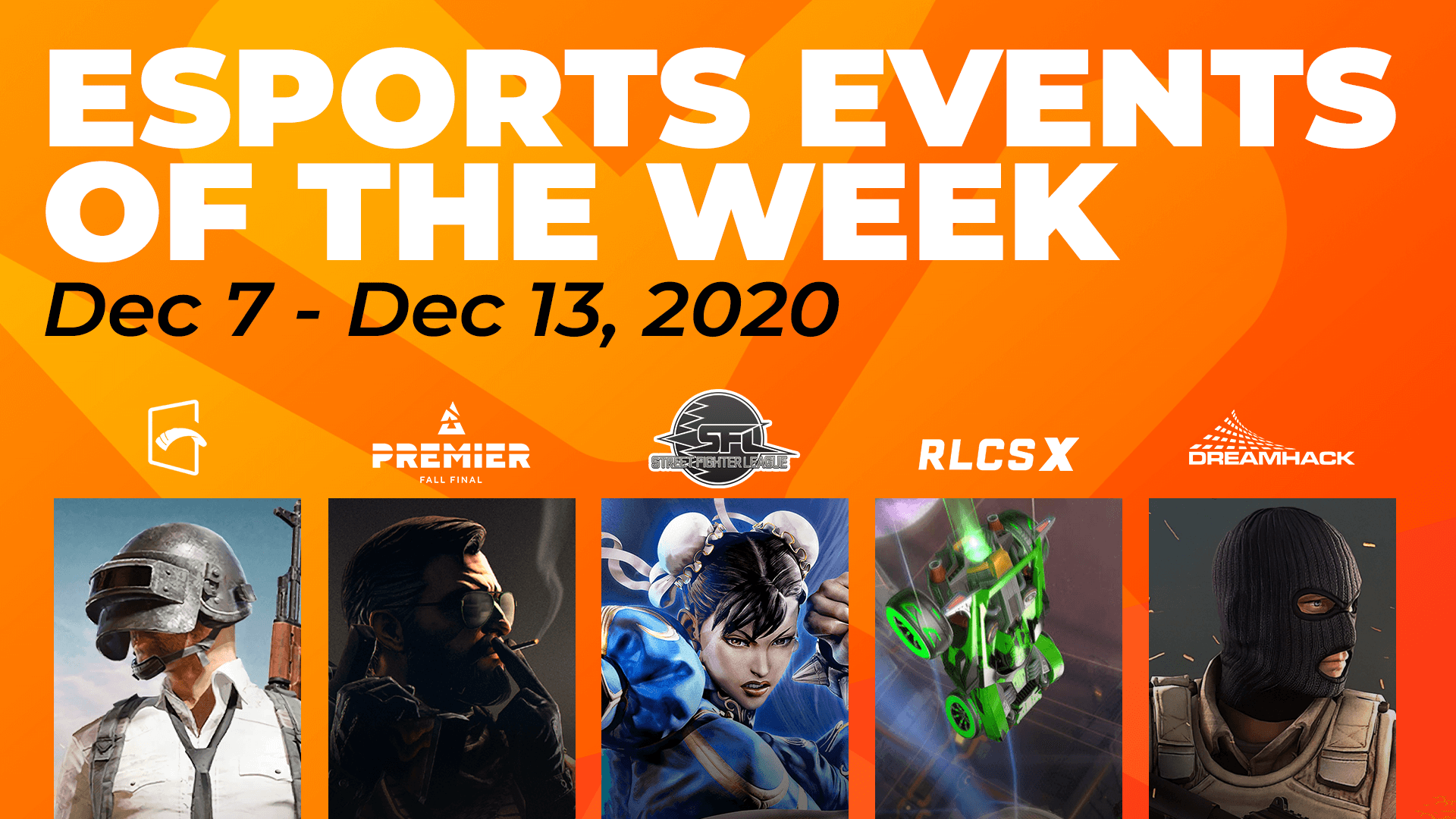 Esports Events to Watch This Week (December 7 – 13)