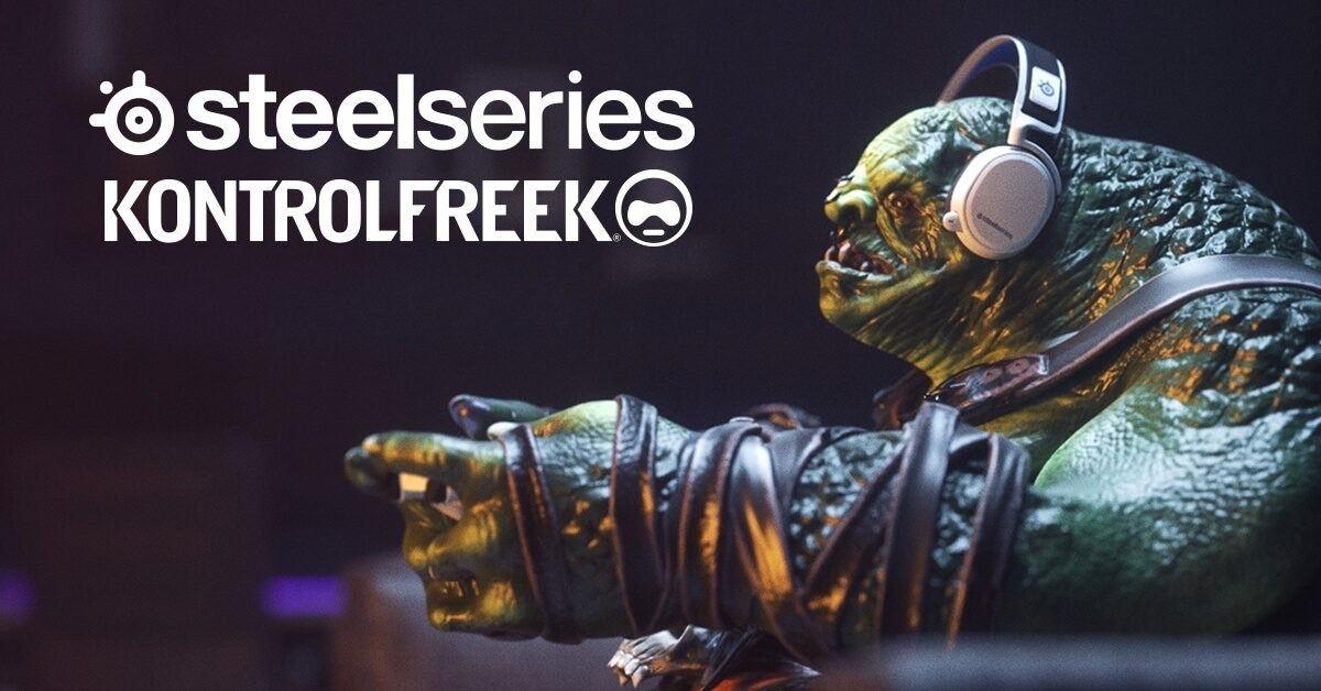 SteelSeries Acquires KontrolFreek to move into Console Gaming