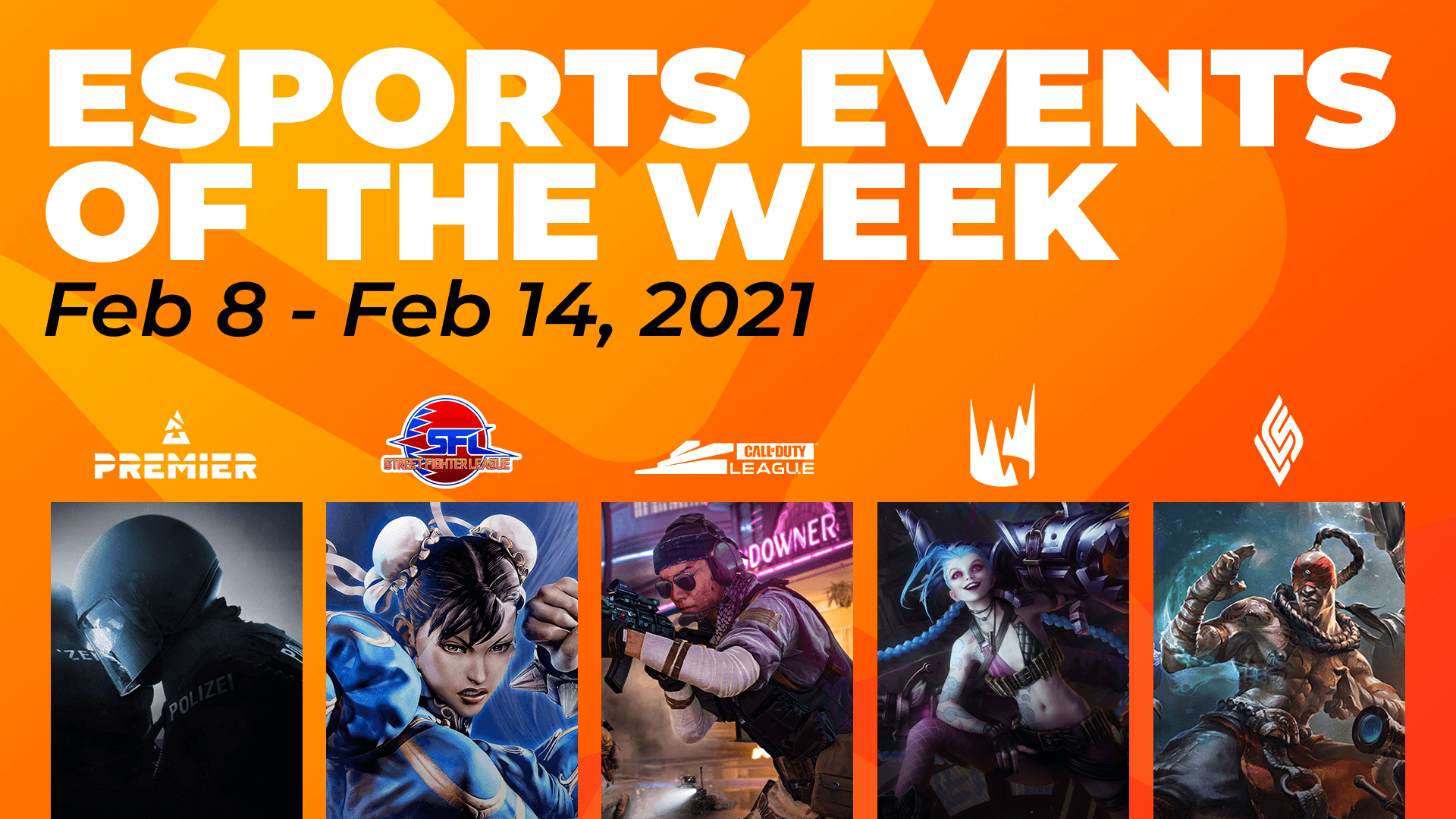 Esports Events to Watch This Week (February 8 – 14)