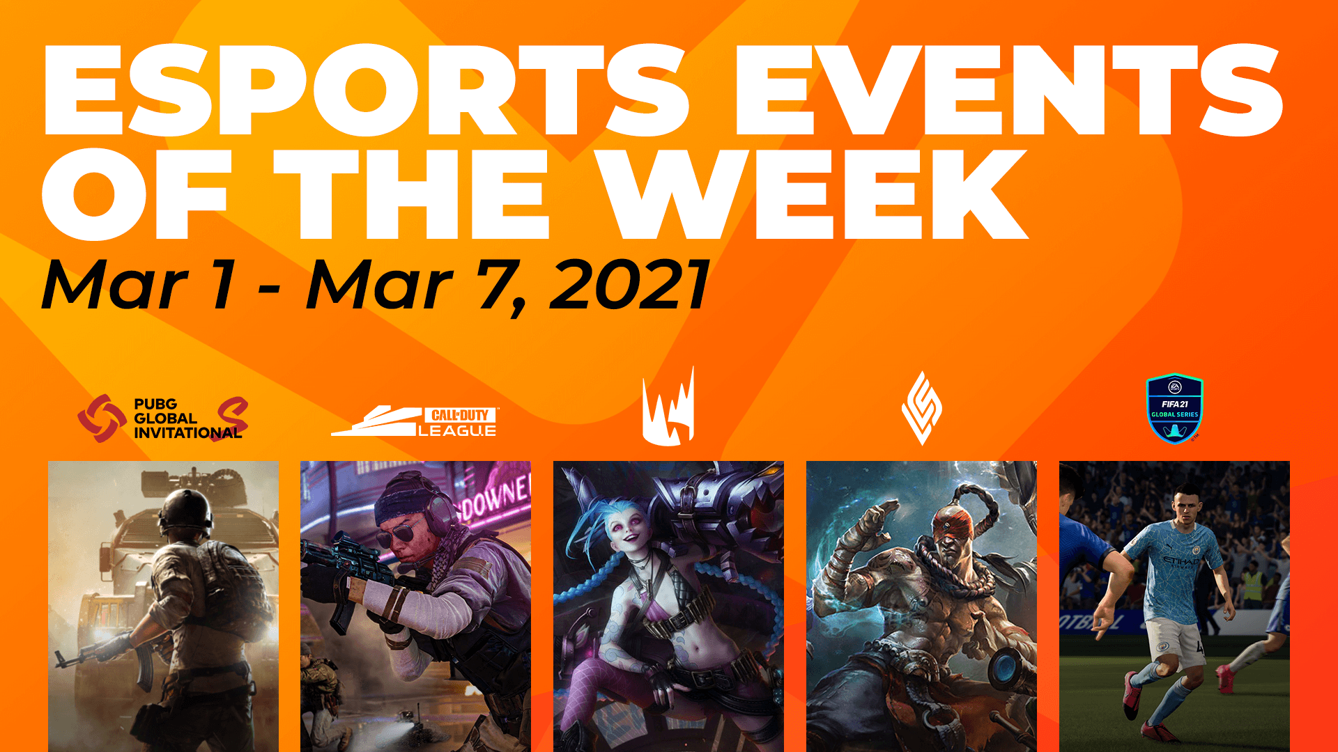 Esports Events to Watch This Week (March 1st – 7th)