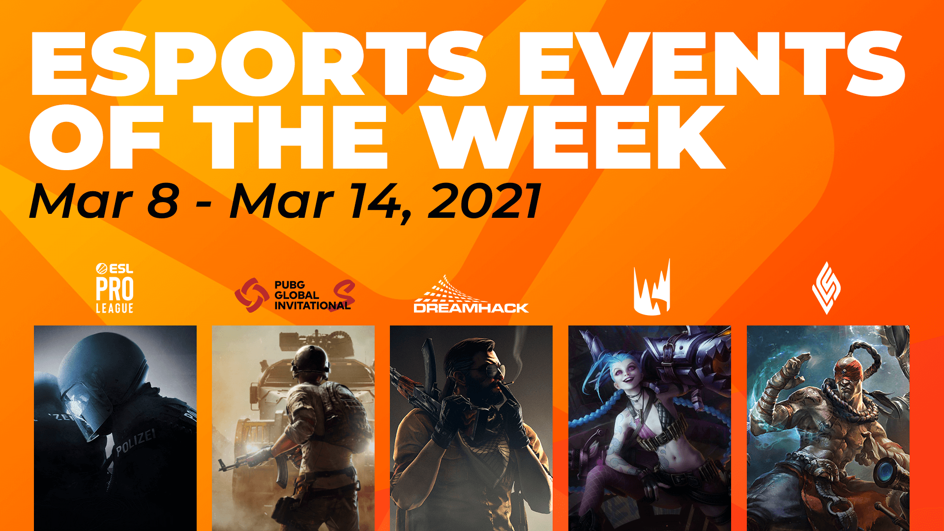 Esports Events to Watch This Week (March 8th – 14th)